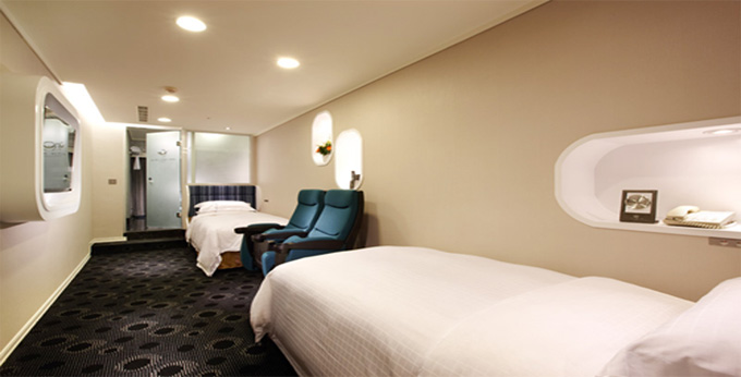 台北头等舱饭店 (中华馆)房间室内图、外观图