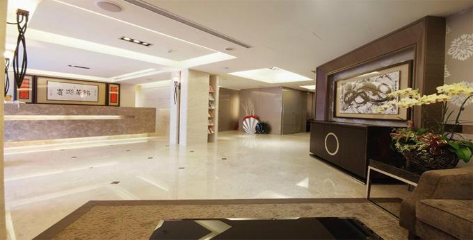 台北豪爵饭店房间室内图、外观图