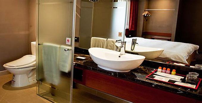 台北福泰桔子商务旅馆 (林森店) 房间室内图、外观图