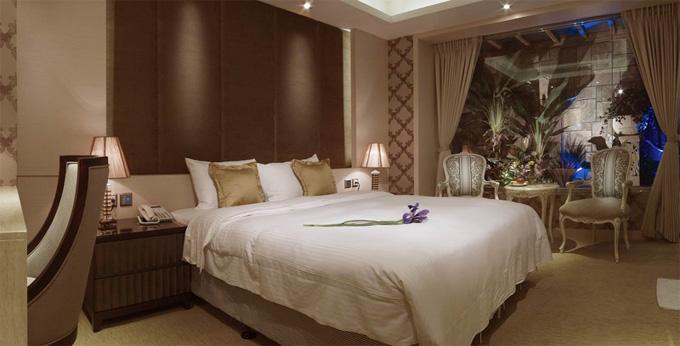 台北世联商旅房间室内图、外观图