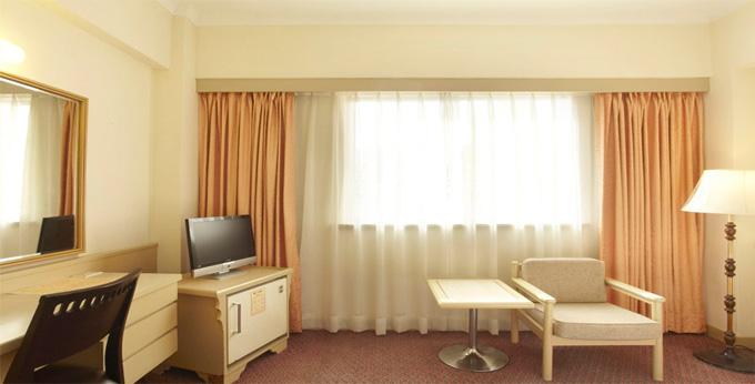 台北国王大饭店房间室内图、外观图