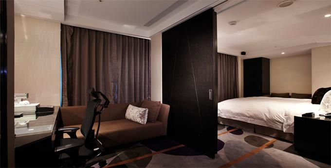 台北柯旅天阁饭店 (长安店) 房间室内图、外观图