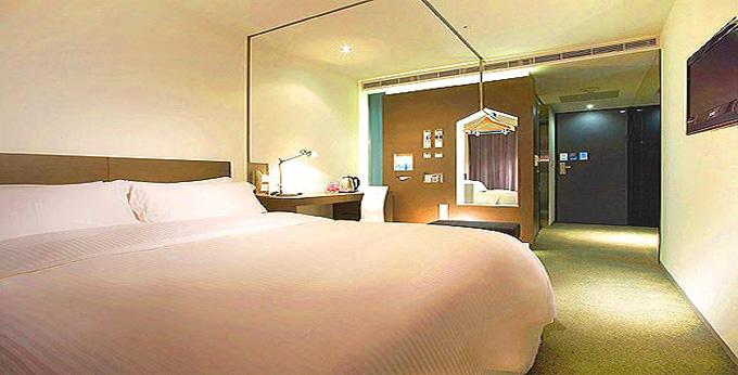 台北捷丝旅酒店 (林森馆) 房间室内图、外观图