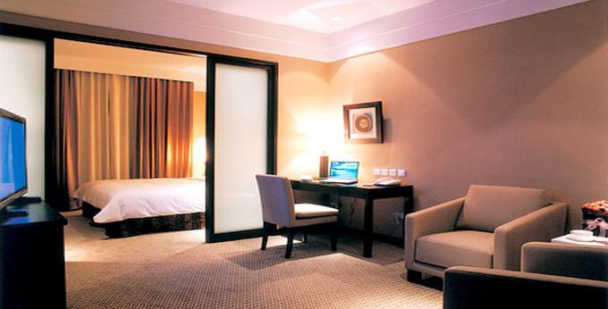 台北国际饭店房间室内图、外观图
