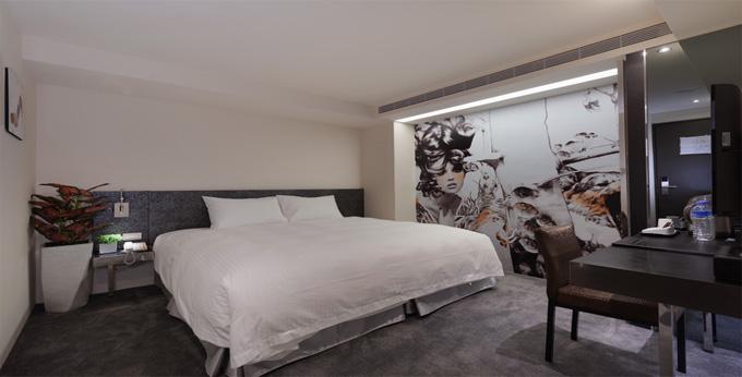 台北澄舍商旅房间室内图、外观图