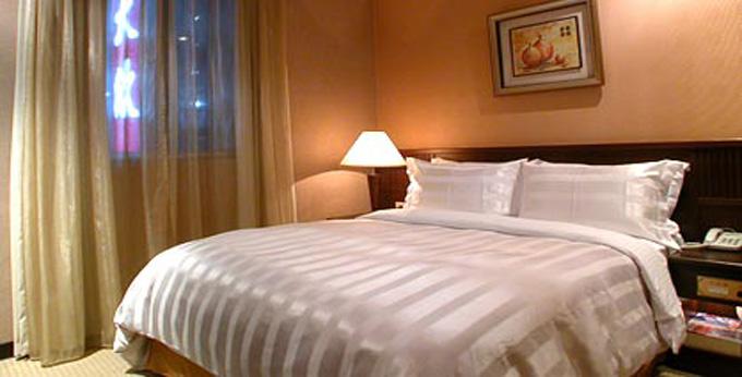 台北大欣大饭店房间室内图、外观图