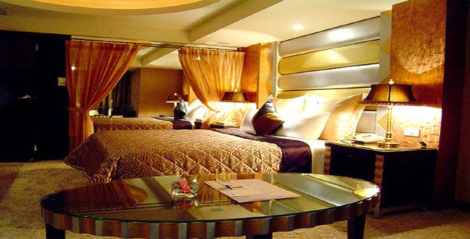 台北绿蒂饭店房间室内图、外观图