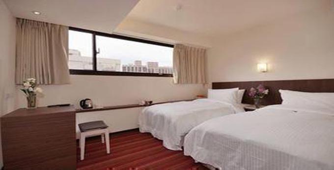 台北山水阁饭店 房间室内图、外观图
