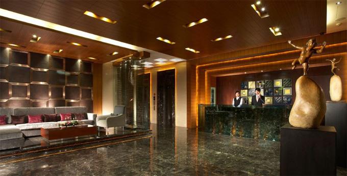 台北柔美精品商旅房间室内图、外观图