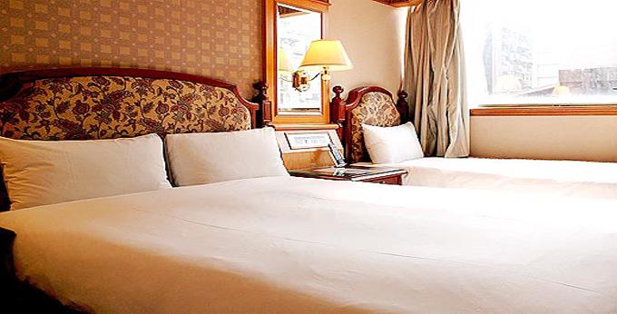 台北密都饭店房间室内图、外观图