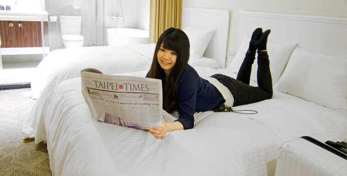 台北丰居旅店房间室内图、外观图
